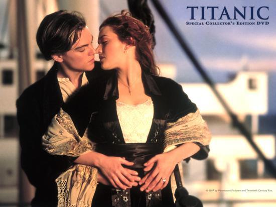 男性对浪漫反应调查:泰坦尼克号败给A片