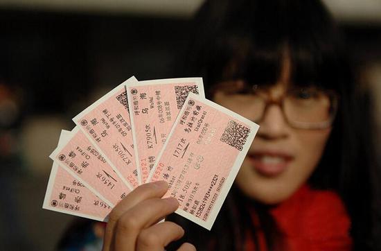 12月1日起火车票网购预售期将逐步延长至60天