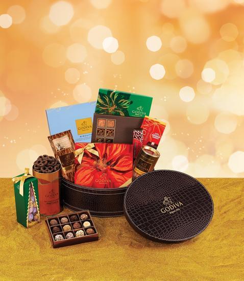 GODIVA歌帝梵推出2014圣诞系列巧克力