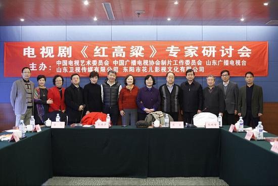 《红高粱》北京研讨会现场