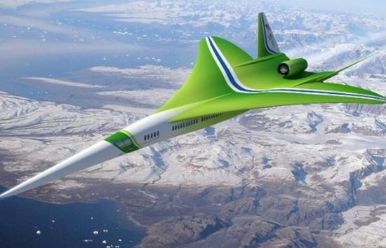 超音速喷气式飞机N+2:两小时横穿美国