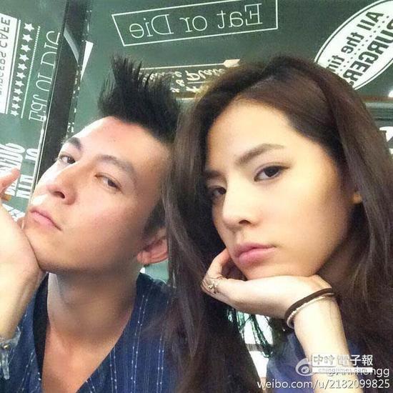 陈冠希和女友