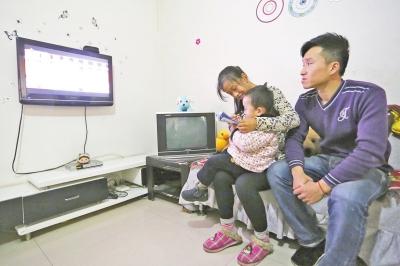 对小蛮来说,与家人在一起是最幸福的事。
