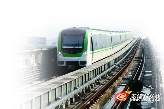 """探访无锡地铁2号线高架车站 四座车站""""一站一色"""""""