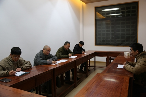 杭州佛学院法云校区举行首届艺术研究生面试