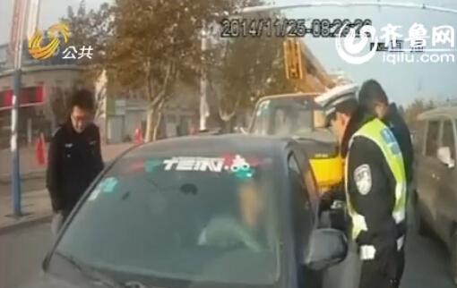 这辆报废车背负着148次违章没有处理(视频截图)