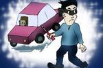 吸毒男子撬车盗窃被抓 塘沽破系列撬砸汽车案