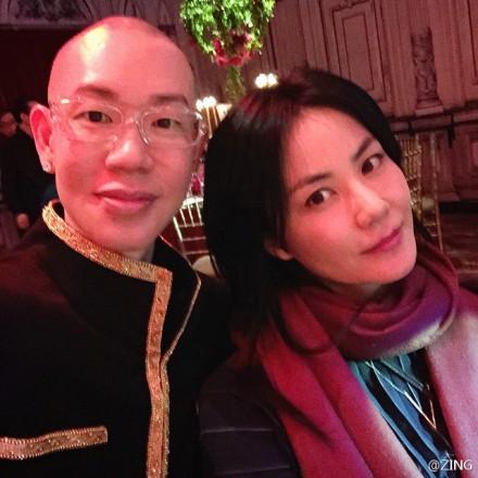 王菲参加刘嘉玲生日派对