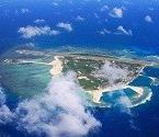 航拍中国西沙岛屿机场