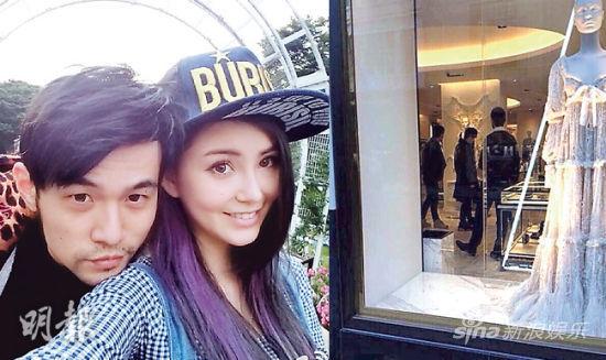 周杰伦被拍到在伦敦逛婚纱店