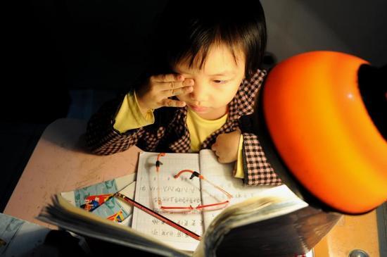 《学生日 作业本上的童年》 夏鹏程(海峡都市报)