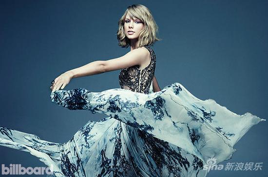 斯威夫特五周领跑美专辑榜 排女歌手历史第三
