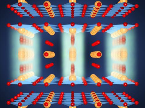 借助短波红外激光脉冲照射钇钡铜氧化物(YBCO),研究人员首次成功地制成室温下的陶瓷超导体——尽管其维持的时间仅有数百万分之几微秒