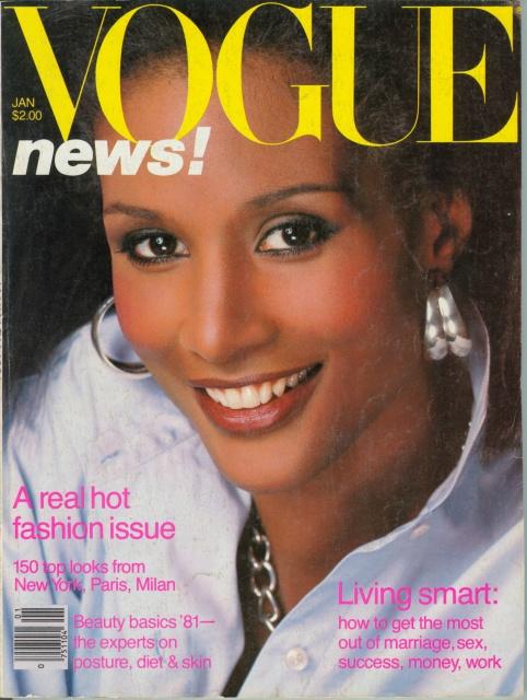 80年代的贝弗莉·约翰逊美艳动人,是最早出名的黑人超模之一