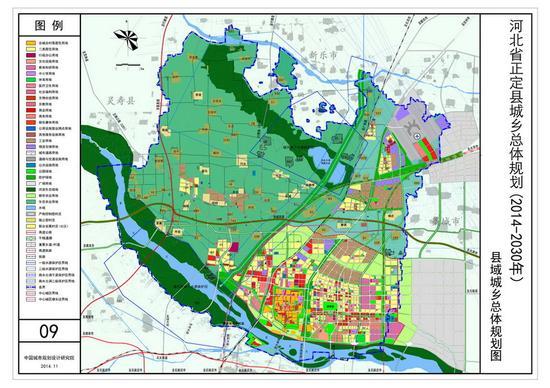 河北正定谋划打造石家庄都市区副中心