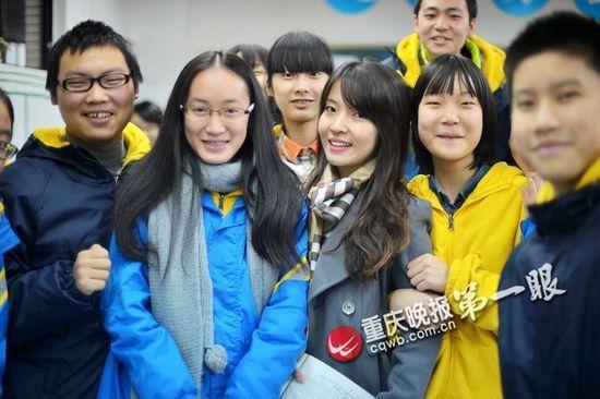 范家璐和同学们