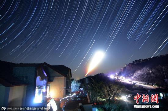 双子座流星雨进入主要活动时间