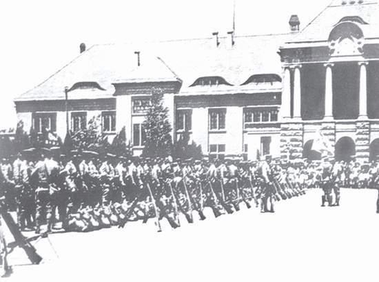 1928年4月,日军抵达胶济铁路济南站