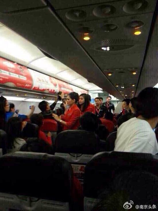网曝2名中国游客侮辱泰国空姐致航班返航
