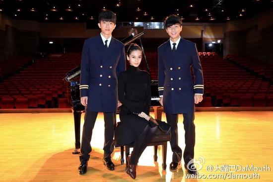 林俊杰、怀秋和angelababy合作引期待