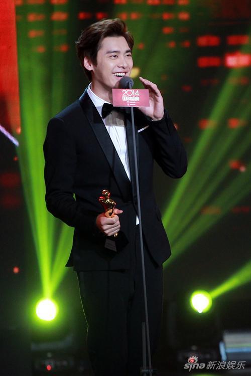 李易峰发表获奖感言