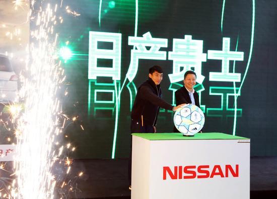 刘伟先生与郑智一起开启直通欧冠之旅