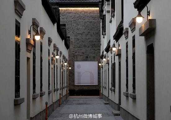 杭州龙翔里历史街区华美亮相 不少明星入驻开店