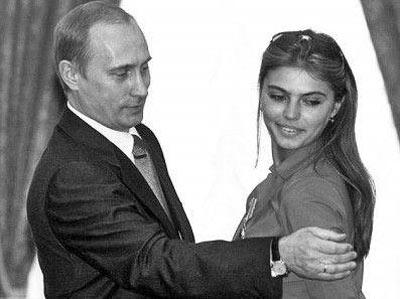 普京和绯闻女友卡巴耶娃