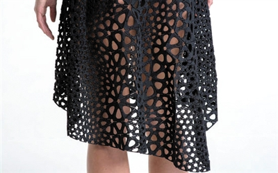 首件4D打印连衣裙问世:造价1.8万元