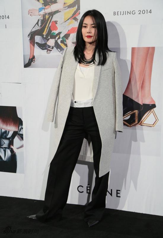 Celine-2014北京秋冬大秀红毯