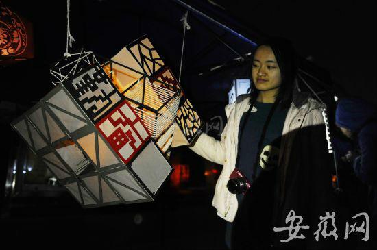 合工大灯笼节浪漫登场 80个创意灯笼放飞梦想图片