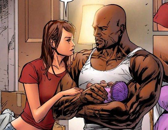 凯奇与琼斯在漫画中结为伉俪