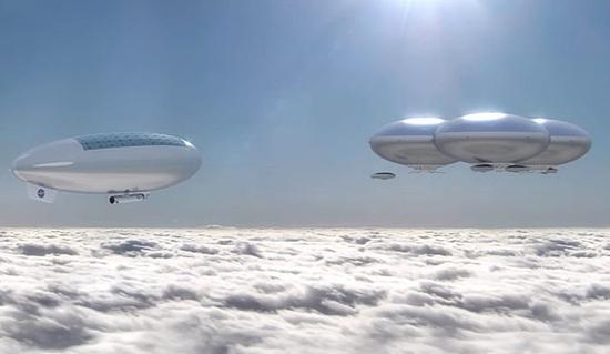 美国宇航局正在研究在金星高空大气中放置悬浮飞艇的可行性。距离金星地表约50公里的高空环境很多方面比火星环境更加宜居。