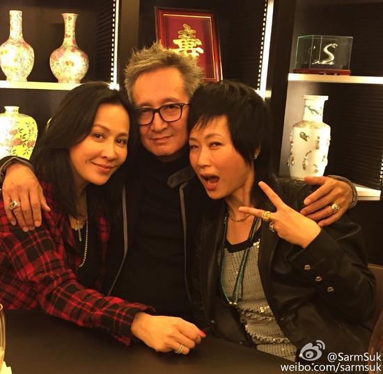 叶童夫妻与刘嘉玲