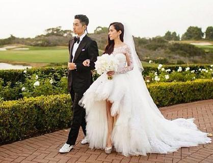 吴建豪与妻子