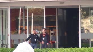 台積電一離職員工騎摩托車衝撞廠門引發騷亂
