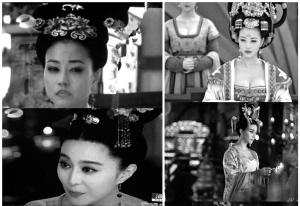 妃嫔宫女肩部如下镜头多被剪