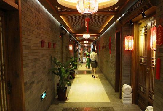 刘老根会馆长廊