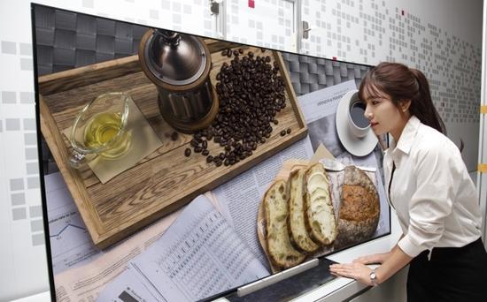 图为:LG新电视