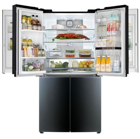 图为:LG旗舰冰箱