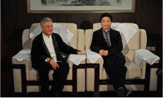 崔永元和赵本山(资料图)
