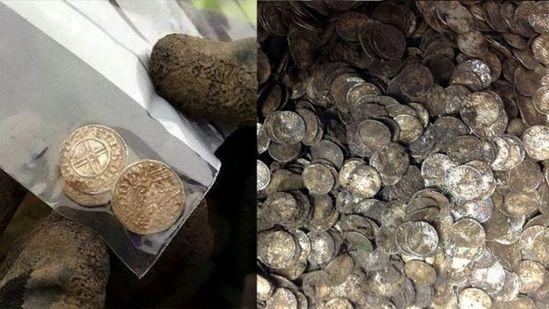 男子挖到价值千万元古币 曾因无油钱欲放弃挖宝