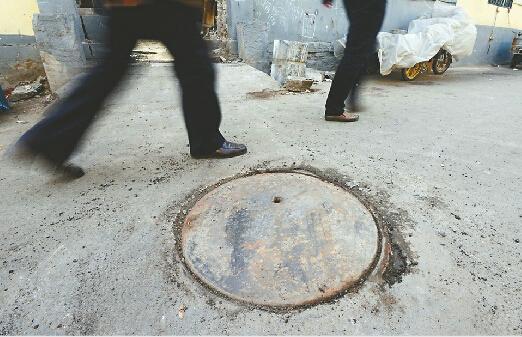 济南一井盖已用了八十多年。