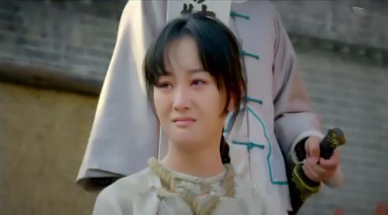 张檬饰演的双儿满含情感