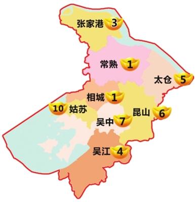 吴江到昆山地图