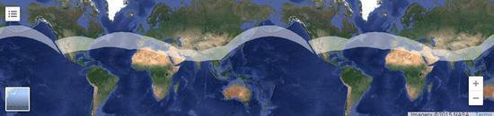 阳光动力根据气候状况规划的初步路线