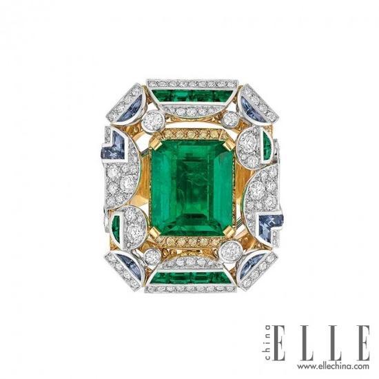 【新珠宝】2014年最惊艳的祖母绿戒指Top 10