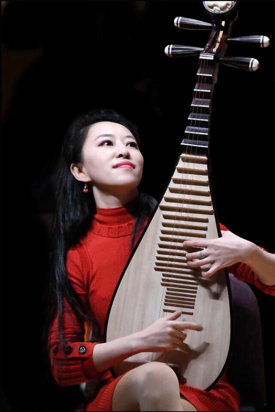琵琶演奏青花瓷的谱子