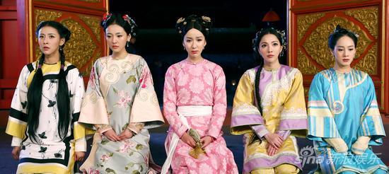 韦小宝的五位老婆