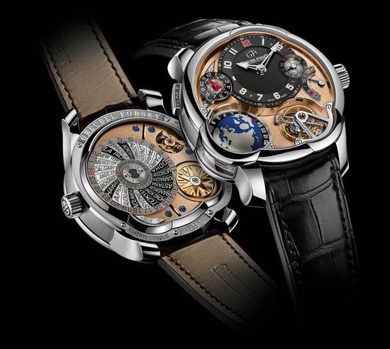 【新时尚】2015SIHH高珀富斯最新款:创新GMT系列